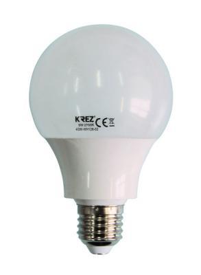 Лампа светодиодная шар KREZ E27 9W 2700K 4GM-WH126-02 стоимость