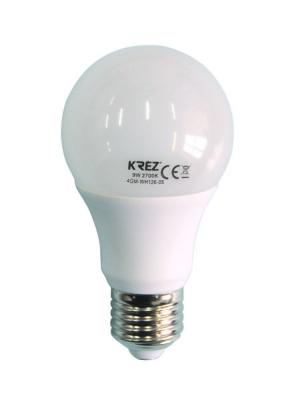 Лампа светодиодная шар KREZ E27 9W 2700K 4GM-WH126-05