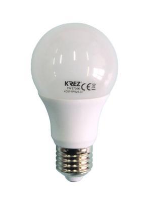 Лампа светодиодная шар KREZ E27 7W 2700K 4GM-WH125-04