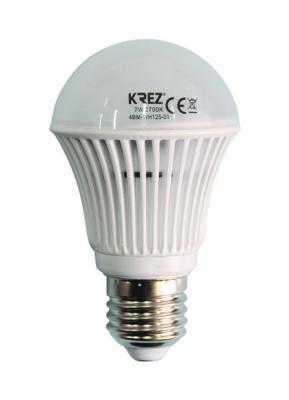 Лампа светодиодная груша KREZ E27 7W 2700K 4BM-WH125-01 morgan mg 001s 4bm