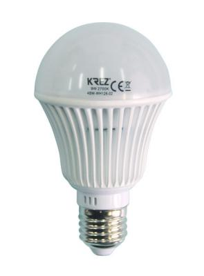 Лампа светодиодная груша KREZ E27 9W 2700K 4BM-WH126-02