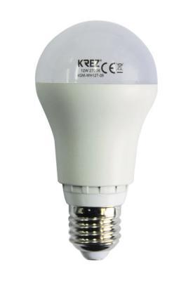 Лампа светодиодная груша KREZ E27 12W 2700K 4GM-WH127-06
