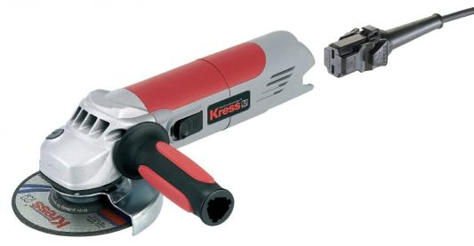 Угловая шлифмашина Kress 1400 WSXE 125 мм, 1400 Вт, 6500-12000 об/мин (картон. короб) поврежденная упаковка фрезерный двигатель kress 530 fm