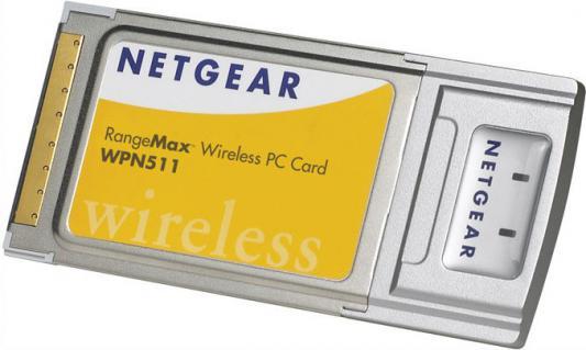 Беспроводной PCMCIA адаптер Netgear WPN511-100EES