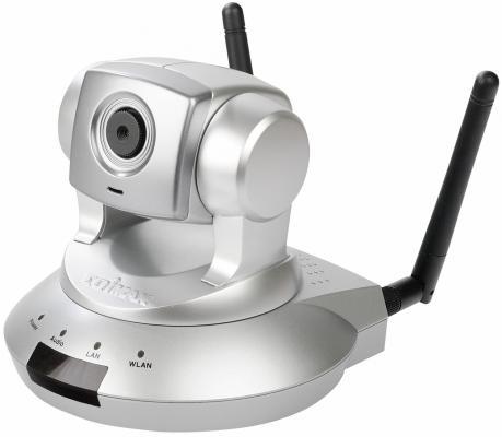 Камера IP Edimax IC-7000PTN CMOS 1/3'' 1280 x 1024 MJPEG MPEG-4 RJ-45 LAN Wi-Fi серебристый
