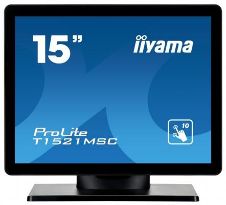 Монитор 15 iiYama ProLite T1521MSC-B1 монитор iiyama prolite b2791qsu b1