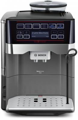 Кофемашина Bosch TES60523RW серебристый