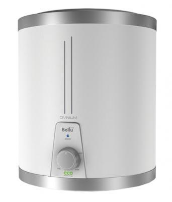 Водонагреватель накопительный Ballu BWH/S 10 Omnium O 10л 2.5кВт белый электрический накопительный водонагреватель ballu bwh s 30 smart wifi