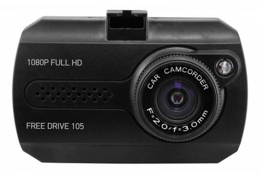 Видеорегистратор Digma FreeDrive 105 черный 1.3Mpix 1080x1920 NTK96220 видеорегистратор digma freedrive ojo black