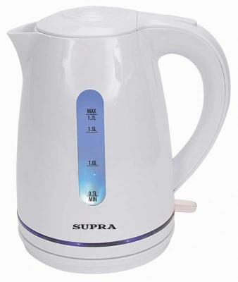 Чайник Supra KES-1729 2200 Вт белый 1.7 л пластик