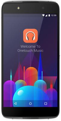 Смартфон Alcatel OneTouch OT6055K IDOL 4 серый 5.2 16 Гб NFC LTE Wi-Fi GPS 3G alcatel onetouch idol x 6043d 32gb белый