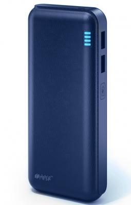 Портативное зарядное устройство HIPER Power Bank SP12500 12500мАч синий аккумулятор hiper power bank sp12500 12500mah black