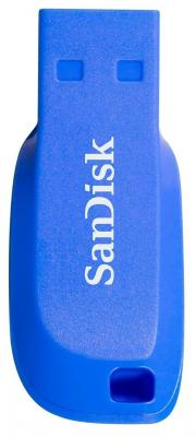 Флешка USB 32Gb SanDisk Cruzer Blade SDCZ50C-032G-B35BE синий usb flash накопитель 32gb sandisk cruzer blade sdcz50c 032g b35be usb 2 0 синий