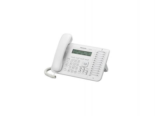 Телефон IP Panasonic KX-NT553RU белый телефон ip panasonic kx nt556rub черный