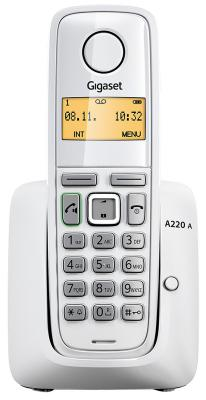 Радиотелефон DECT Gigaset A220A серый