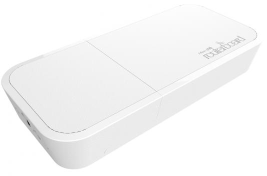 Точка доступа MikroTik wAP АС 802.11aс 5 ГГц 2.4 ГГц 1xLAN белый RBWAPG-5НасT2HnD