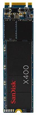 SSD Твердотельный накопитель M.2 2280 256Gb SanDisk X400 Read 540Mb/s Write 520Mb/s SD8SN8U-256G-1122