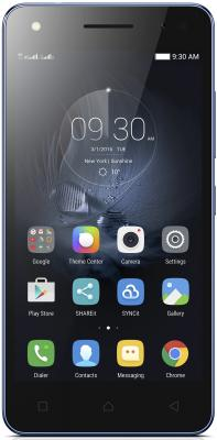 Смартфон Lenovo Vibe S1 lite синий 5 16 Гб LTE Wi-Fi GPS PA2W0008RU аксессуар чехол lenovo k10 vibe c2 k10a40 zibelino classico black zcl len k10a40 blk