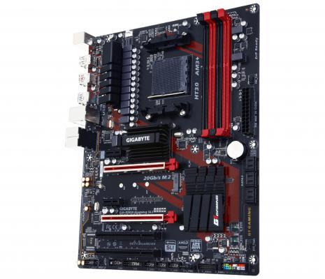 Мат. плата для ПК GigaByte GA-990X-GAMINGSLI Socket AM3+ AMD 990X 4xDDR3 2xPCI-E 16x 2xPCI 2xPCI-E 1x 6xSATAIII ATX Retail