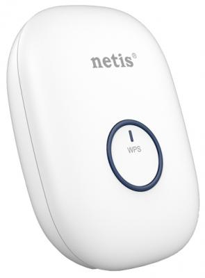 Ретранслятор Netis E1+ 802.11n 300Mbps 2.4 ГГц 0xLAN белый повторитель беспроводного сигнала netis e1 белый