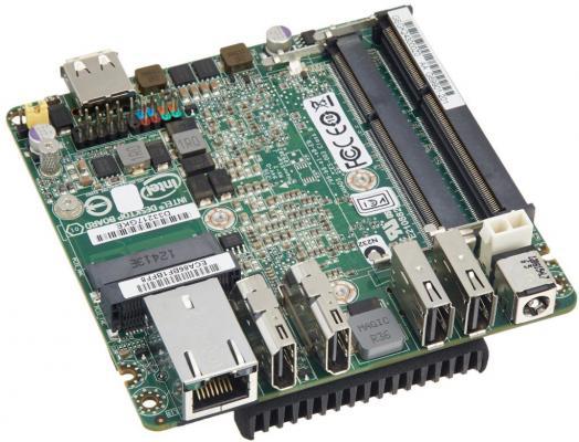 Мат. плата для ПК Intel BLKD33217GKE с процессором Intel QS77 2xDDR3 2xPCI-E 16x 1xSATAIII Нестандартный