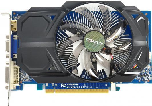 Видеокарта 2048Mb GIGABYTE R7 250 PCI-E GV-R725OC-2GIV5.0 DVI HDMI Retail
