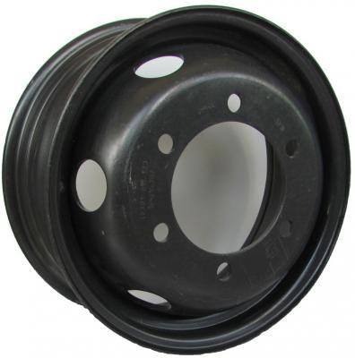 Диск Mefro ЗИЛ-5301 6.5xR16 6x205 мм ET123 Черный