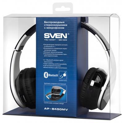 Гарнитура Sven AP-B450MV черный белый цена