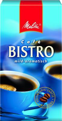 Кофе Melitta  Bistro mild-aromatisch 500г молотый
