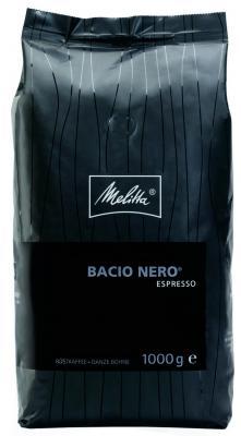 Кофе Melitta Espresso Bacio Nero 1кг в зернах
