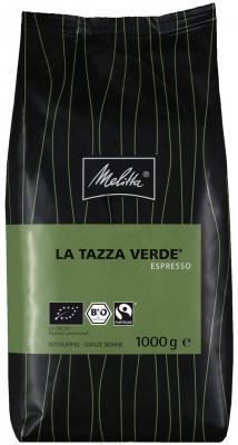 Кофе Melitta La Tazza Verde Espresso в зернах 1кг