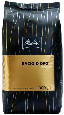 Кофе Melitta Espresso Bacio D'Oro 1кг в зернах