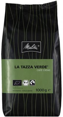 Кофе Melitta La Tazza Verde Cafe Creme в зернах