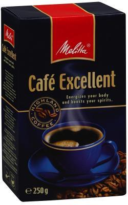 все цены на Кофе Melitta Excellent 250гр жареный молотый 00284 онлайн