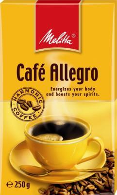 Кофе Melitta Allegro 250гр жареный молотый 00285 цены