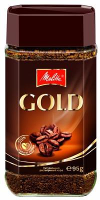 Кофе Melitta Gold растворимый сублимированный 95гр 01652