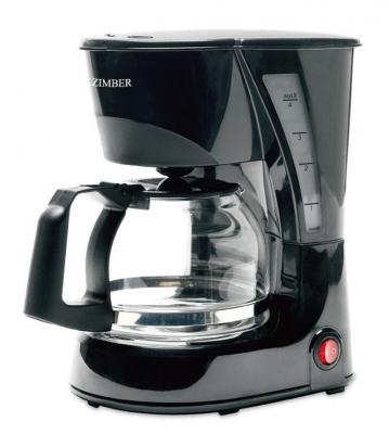 Кофеварка Zimber ZM-11008 черный