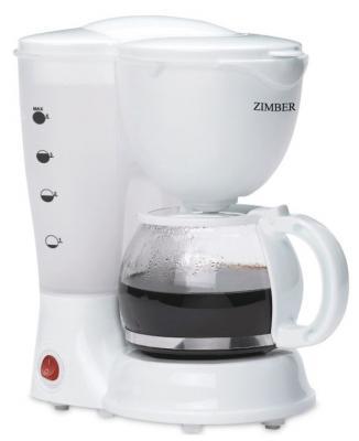 Кофеварка Zimber ZM-11009 белый