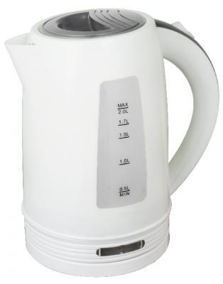 Чайник Zimber ZM-11108 2200 Вт белый серый 2 л пластик
