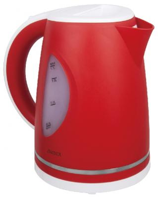 Чайник Zimber ZM-11027 2200 Вт белый красный 1.7 л пластик