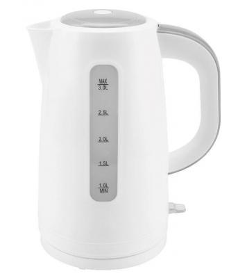Чайник Zimber ZM-11107 2200 Вт белый серый 3 л пластик