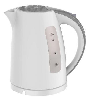 Чайник Zimber ZM-11105 2200 Вт белый серый 1.7 л пластик