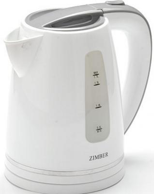 Чайник Zimber ZM-11110 2200 Вт белый серый 1.7 л пластик