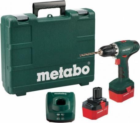 Дрель-шуруповёрт Metabo BS 12 + набор оснастки 74 предмета 0Вт дрель шуруповёрт bort bab 12 d 98296501 0вт 93728410