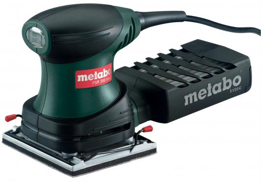Виброшлифовальная машина Metabo FSR 200 Intec 200Вт 600066500 мультишлифователь metabo fms 200 intec 600065500