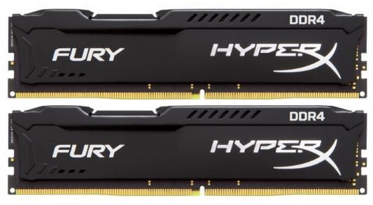 Оперативная память 16Gb (2x8Gb) РС4-19200 2400MHz DDR4 DIMM CL15 Kingston HX424C15FB2K2/16 оперативная память kingston kvr24r17s4 16