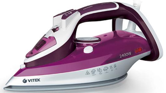 Утюг Vitek VT-1246 1800Вт фиолетовый утюг vitek vt 1247 3000вт фиолетовый