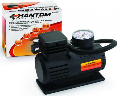 Автомобильный компрессор Phantom РН2034 автомобильный компрессор phantom рн2023
