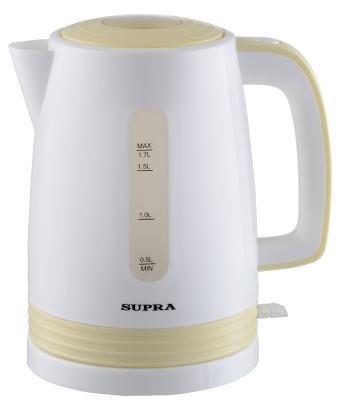 Чайник Supra KES-1723 2200 Вт белый 1.7 л пластик