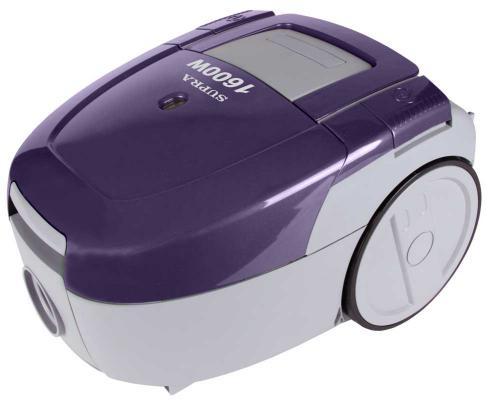 Пылесос Supra VCS-1603 сухая уборка фиолетовый пылесос supra vcs 1603 1600вт фиолетовый